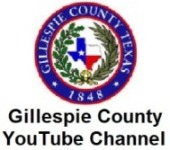 Gillespie County Youtube Channel